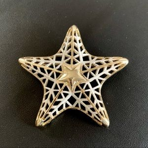 Vintage MONET Star Statement Brooch